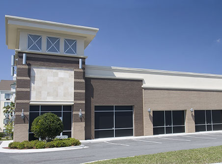 new strip mall completed with CMBS conduit loans